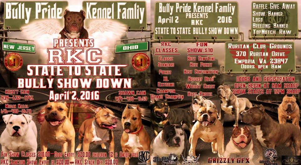 state to state bully show down rkc